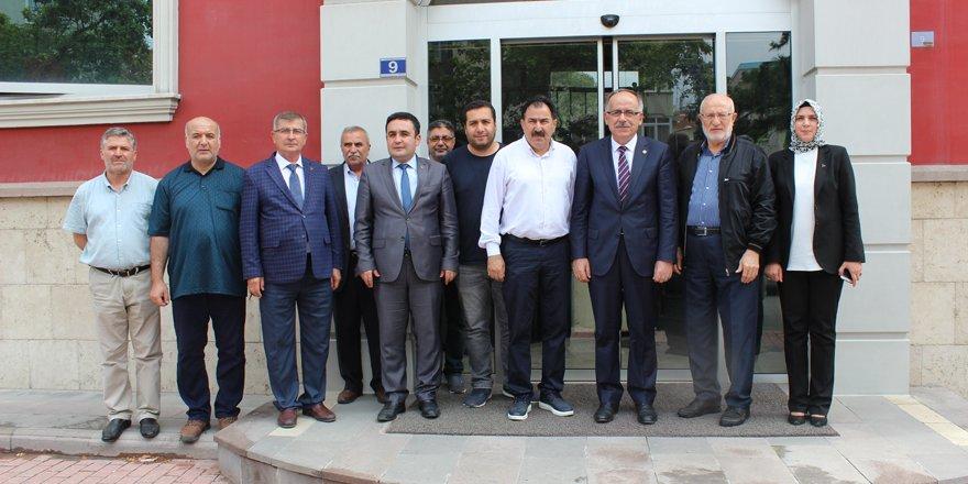Mustafa Kalaycı'dan Merhaba'ya ziyaret
