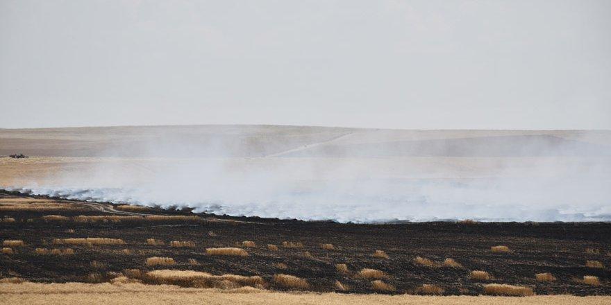 Kulu'da ekin yangını