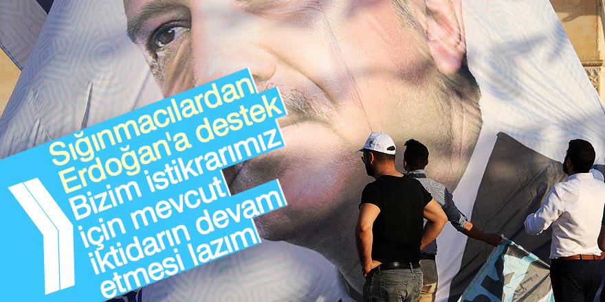 """""""Erdoğan'ın yeniden seçilmesi için dua ediyor"""""""