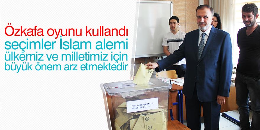 Mustafa Özkafa oyunu kullandı