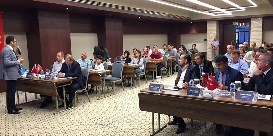 BİK Konya işbirliği ve istişare toplantısı yapıldı