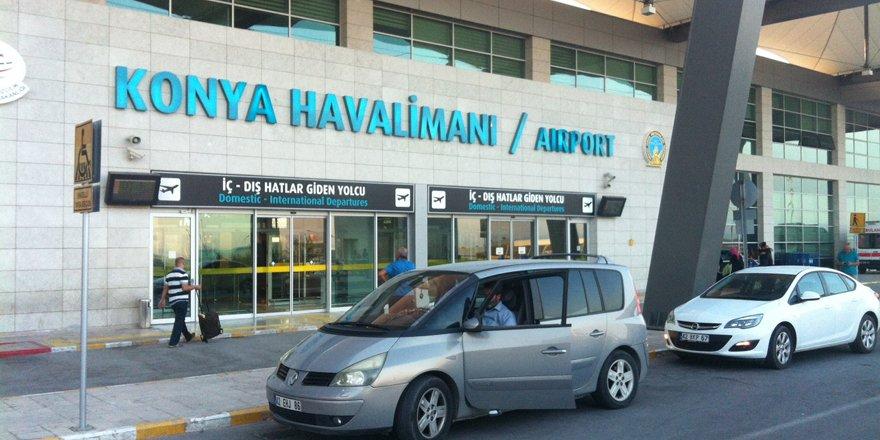 Konya Havalimanı'nda 90 bin 754 yolcuya hizmet verildi
