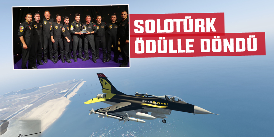 SoloTürk'e en iyi solo gösteri ödülü