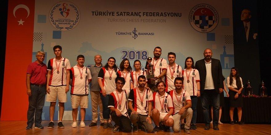 Konya'daTürkiye Kulüpler Satranç Şampiyonası gerçekleşti