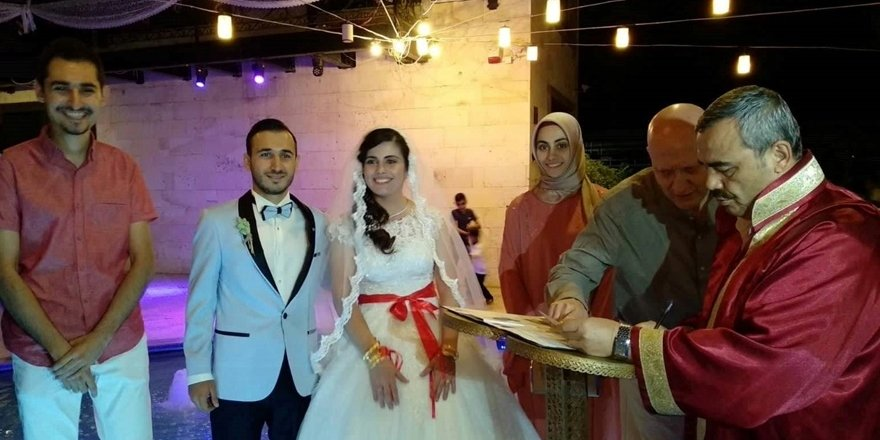 Körpe ve İriş ailelerinin düğün mutluluğu