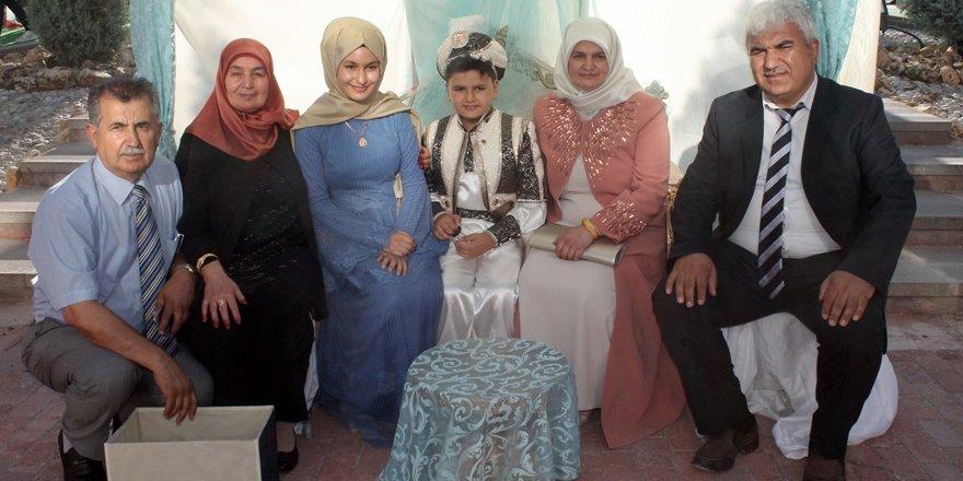 Mehmed Zahid'in sünnet mutluluğu