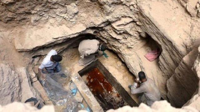 Mısır'da bulunan lahitin sırrı çözüldü
