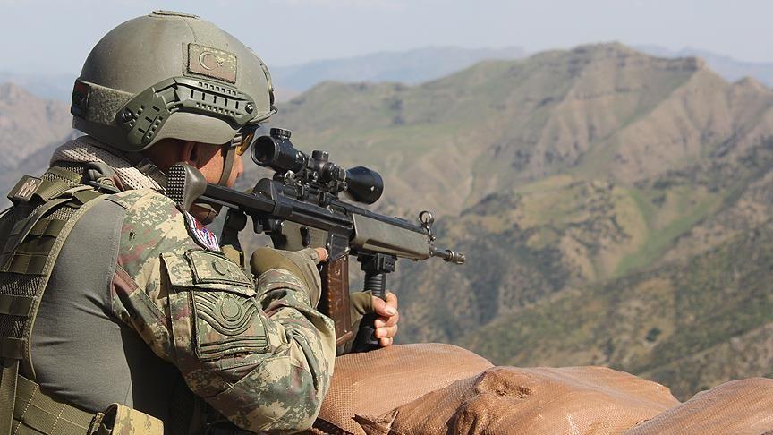Hakkari'de 9 PKK'lı terörist öldürüldü