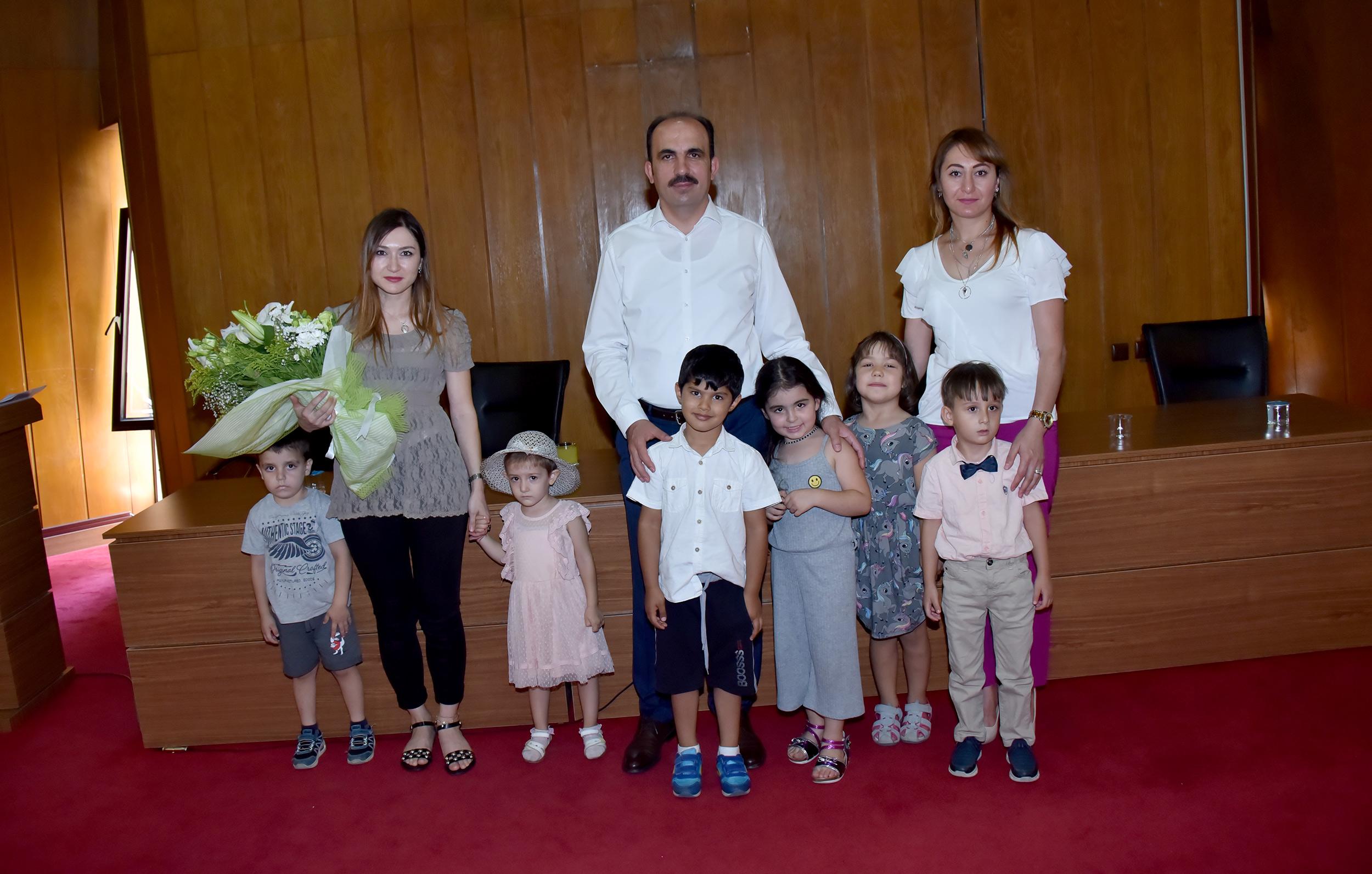 Özel Balkan öğrencilerinden Başkan Altay'a ziyaret