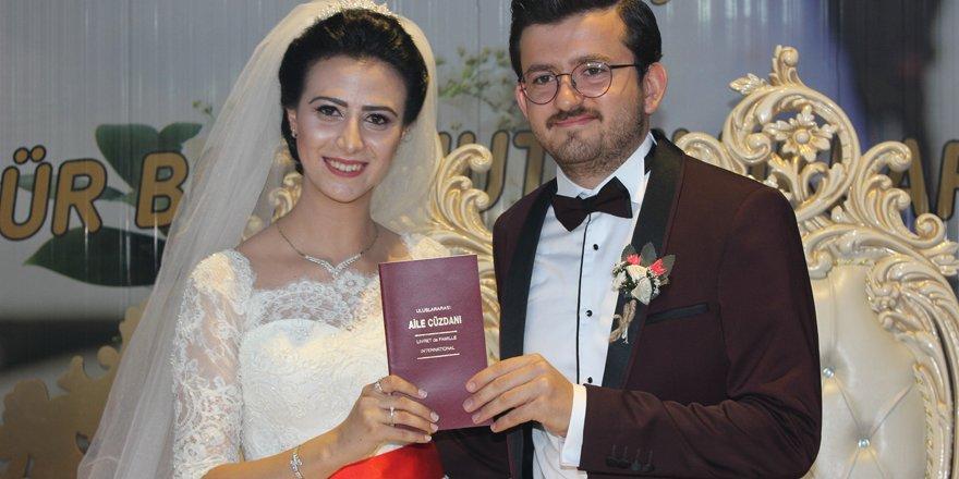 Gamze ve Cafer Sami mutluluğa evet dedi