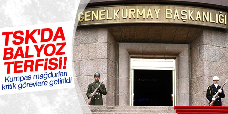 TSK'da Balyoz terfisi!
