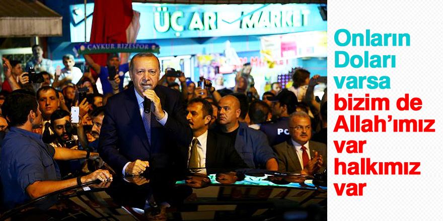 Erdoğan: Çeşitli kampanyalar yürütüyorlar