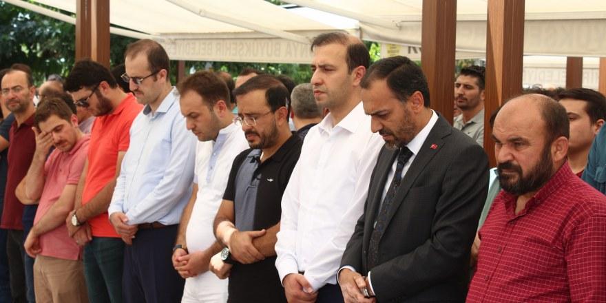 Abdulbaki Özdemir'in oğlu toprağa verildi
