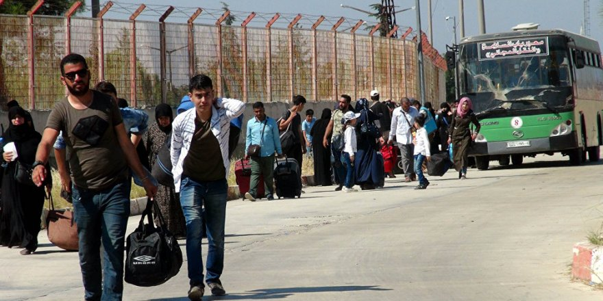 Rusya: Türkiye'deki Suriyeliler ülkelerine dönmek istiyor