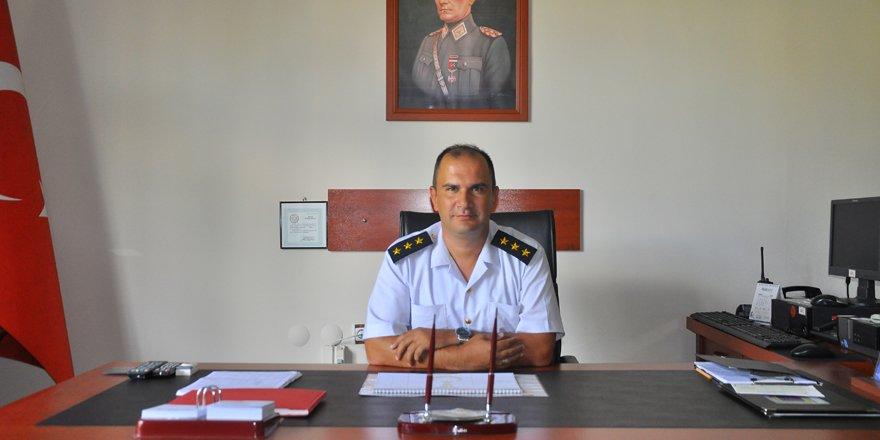 Akşehir İlçe Jandarma Komutanı Çapan görevine başladı