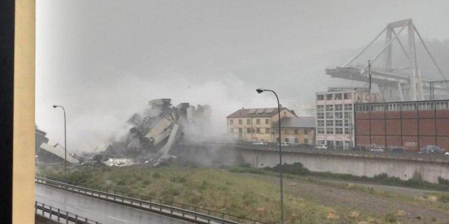 100 metre yüksekliğindeki köprü çöktü: Ölü ve yaralılar var