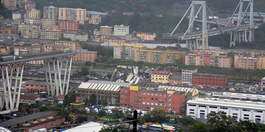 İtalya'da otoyol köprüsü çöktü: 22 ölü, 8 yaralı