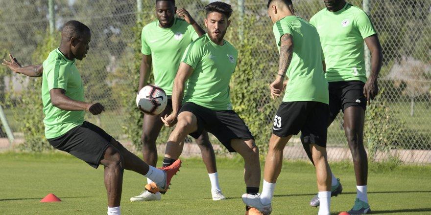 Antalyaspor hazırlığı başladı