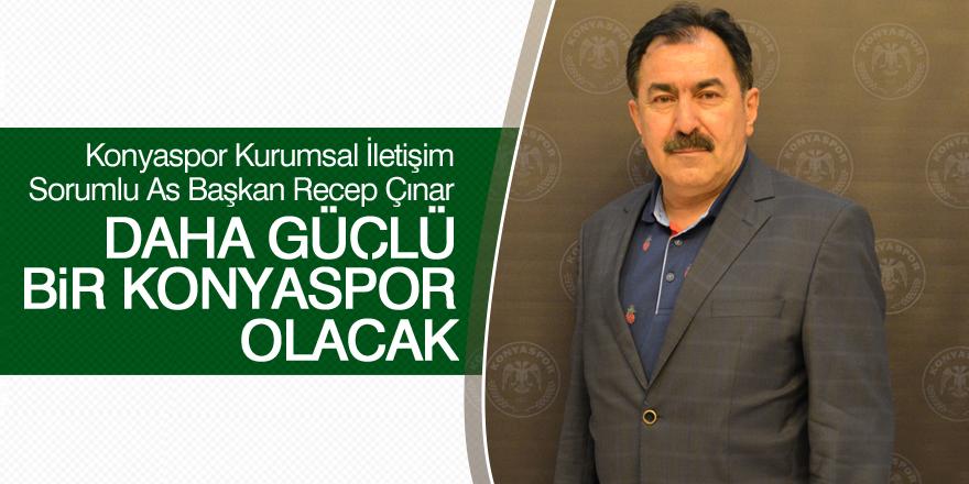 Konyaspor'da hedef 2'de 2