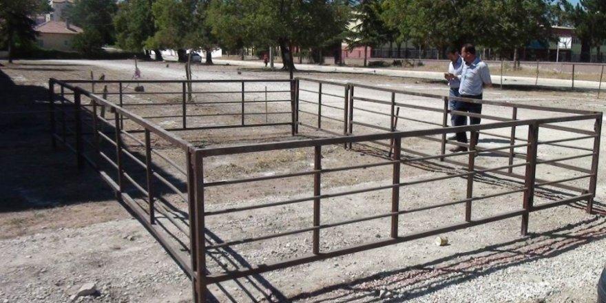 Ereğli'de hayvan pazarının kurulacağı alan hazırlandı