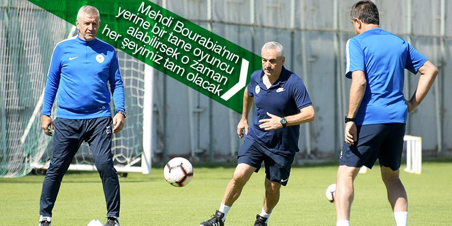 Konyaspor'da hedef üst sıralar