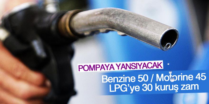 Akaryakıta ÖTV zammı: Benzin ve motorinde pompa fiyatı yüzde 9 artacak