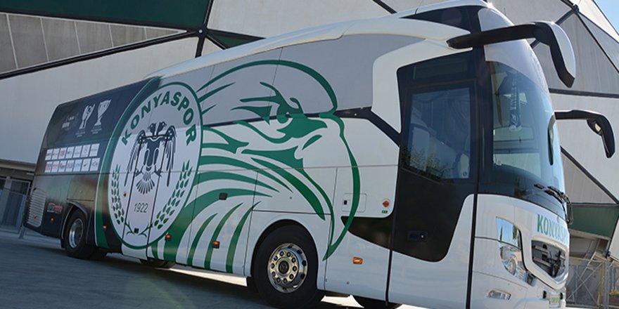 Atiker Konyaspor'un otobüsüne yeni giydirme