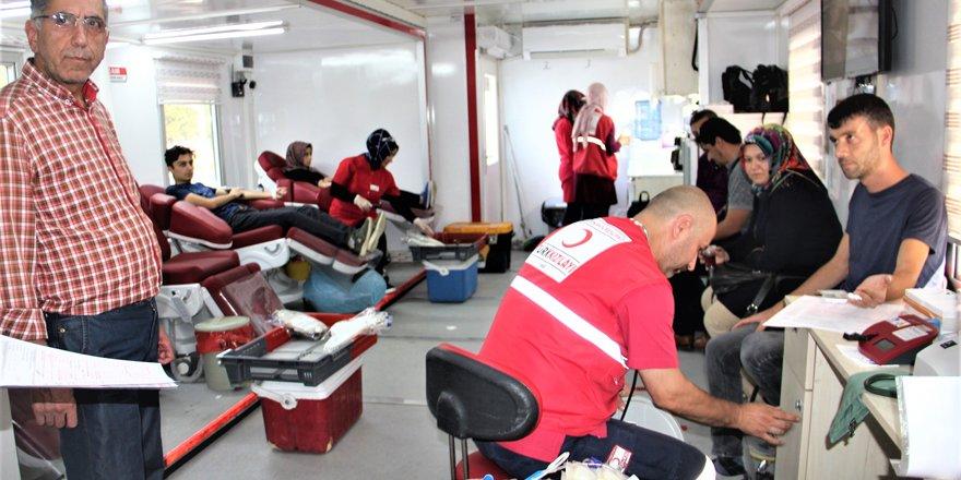 Seydişehir'de kan bağışı kampanyası