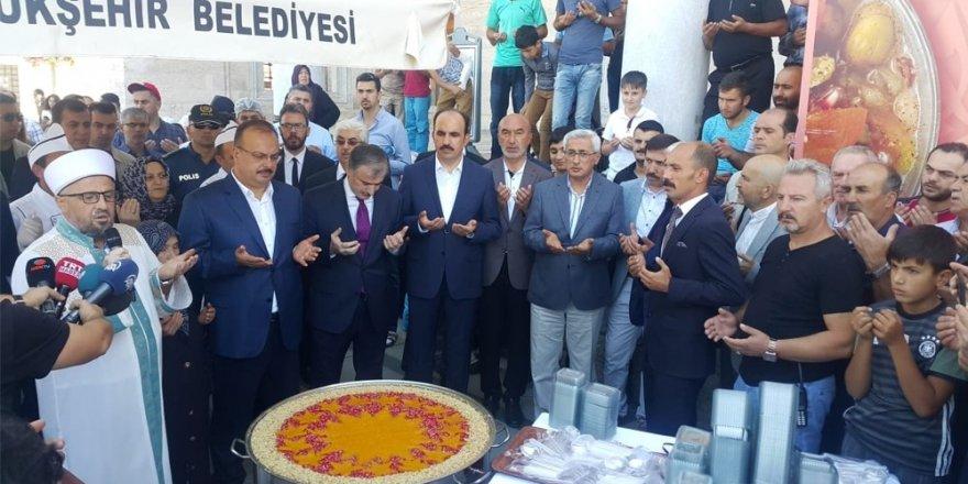 Cumhurbaşkanlığından Konya'da aşure dağıtımı