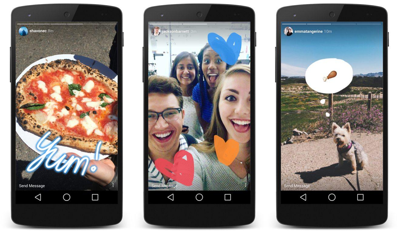 Instagram'ın Popüler Özelliği: Hikayeler
