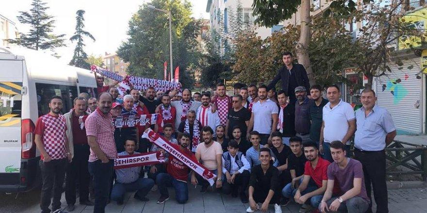 Akşehirspor  taraftarı Takımını yalnız bırakmadı