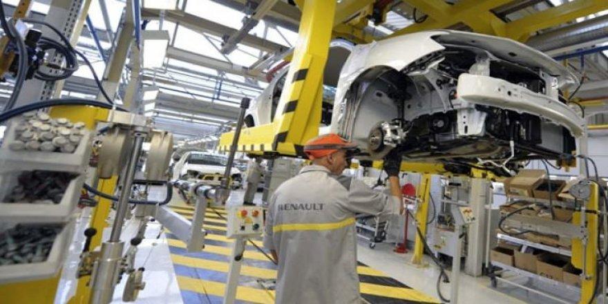 Renault da üretimi durdurdu!