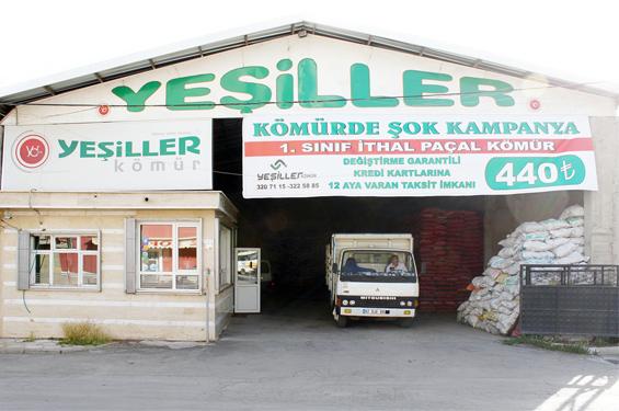 Yeşiller Kömür'de dev kampanya