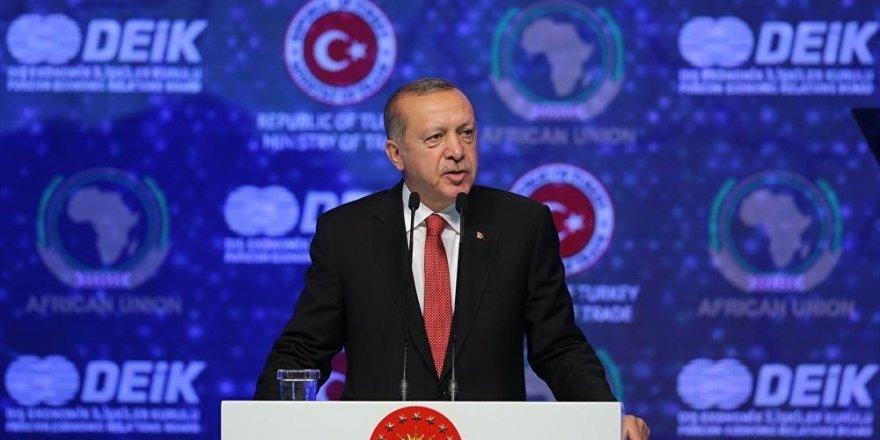 Erdoğan: Biz bugünlere kirli pazarlıklarla değil, bedel ödeyerek geldik