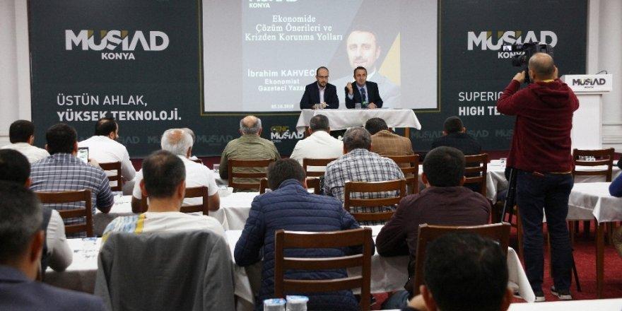 Gazeteci Yazar Kahveci: Paramız değer kaybetmemelidir