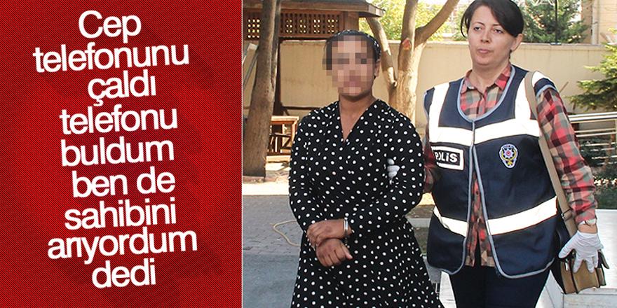 Konya'da cep telefonu hırsızlığı