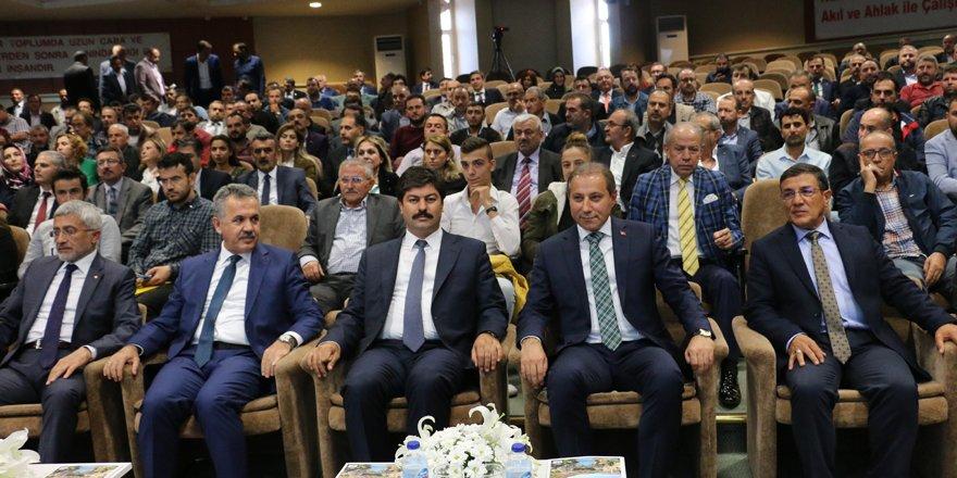 """""""Esnaf Kart"""" Konya'da tanıtıldı"""