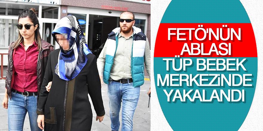 FETÖ'den aranan zanlı tüp bebek merkezinde yakalandı