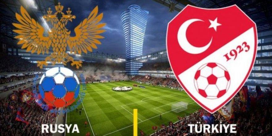 Rusya Türkiye maçı saat kaçta? Hangi kanalda?