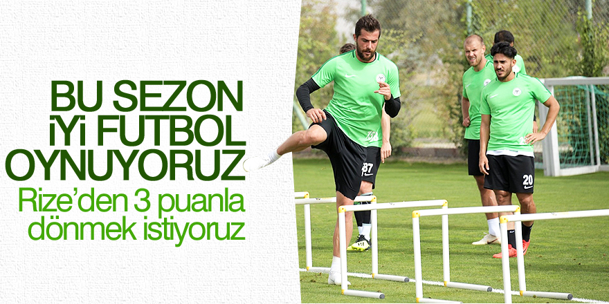 Uğur Demirok: Bu sezon iyi futbol oynuyoruz