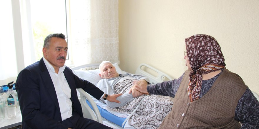 Başkan Tutal'dan anlamlı ziyaretler
