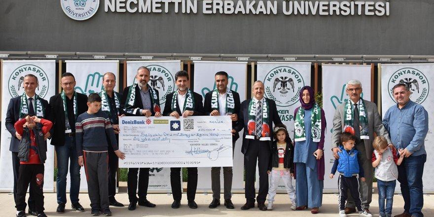 Atiker Konyaspor-Fenerbahçe maçının hasılatı otizmli çocuklara bağışlandı