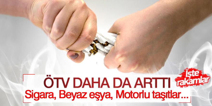 2019 ÖTV zamları