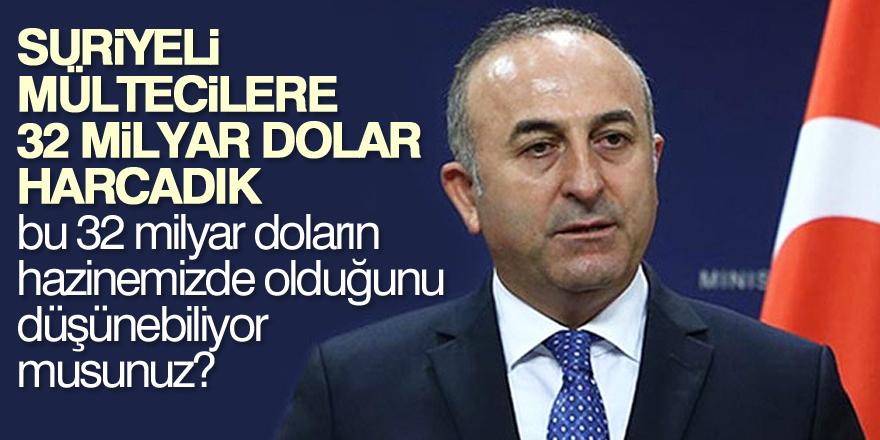 Çavuşoğlu: Türkiye insani yardımda dünyanın zirvesinde