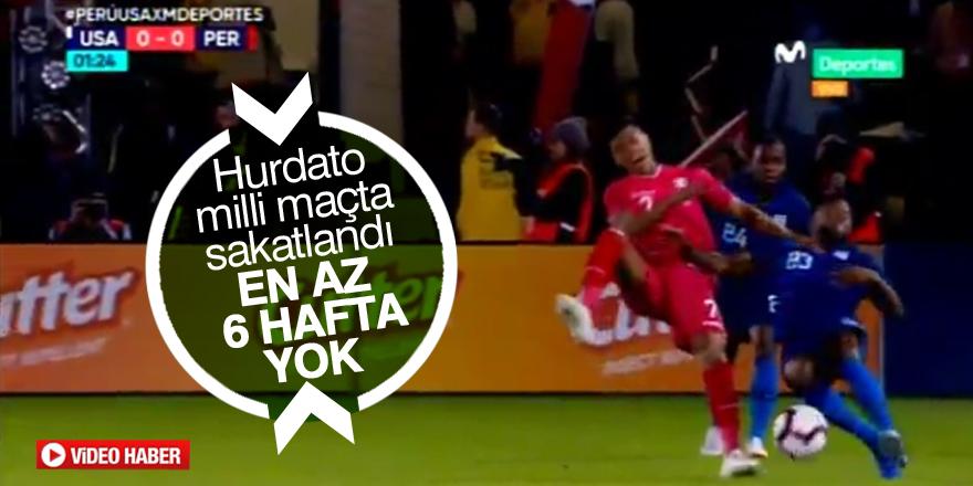 Konyaspor'da Hurtado sakatlandı