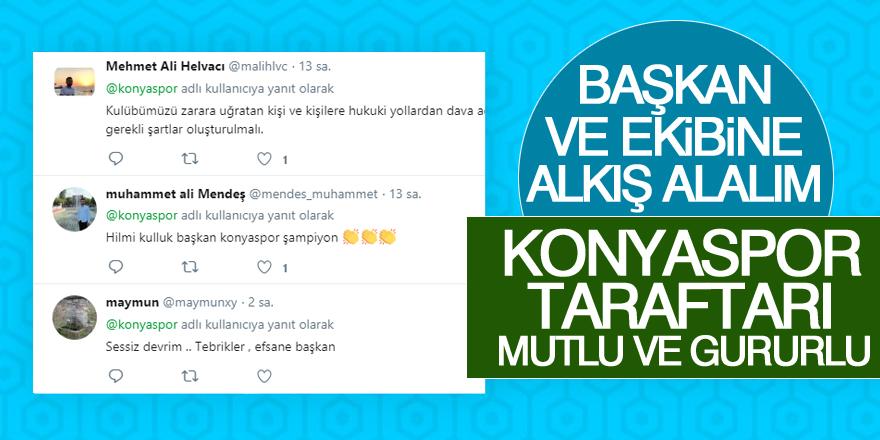 Konyaspor Taraftarı mutlu