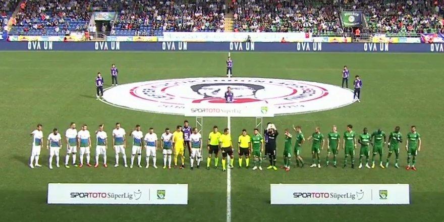 Çaykur Rizespor - Konyaspor: 1-0