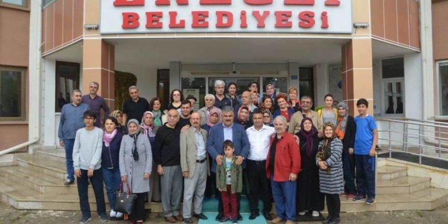 Konya turizm tanıtım elçileri Ereğli'yi gezdi