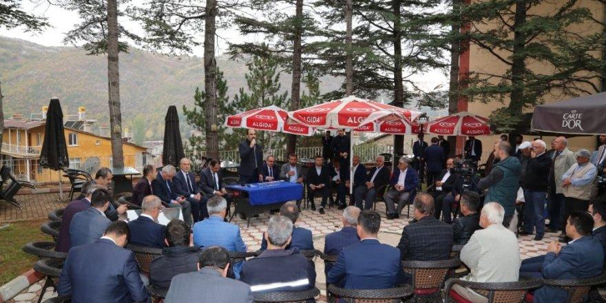 Başkan Altay: Bütün ilçelerimizin kalkınması için çalışıyoruz