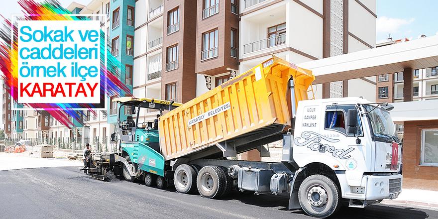 Sokak ve caddeleri örnek ilçe: Karatay